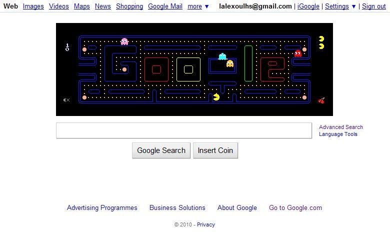 47018c6bce8 Το Pac Man γίνεται 30 ετών και η Google το γιορτάζει! | Technologos